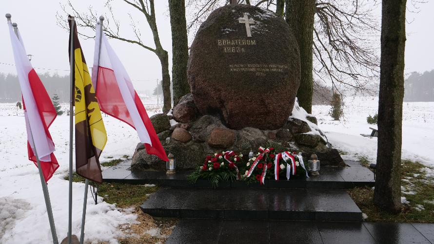 Mogiła Powstańców Styczniowych poległych w Bitwie pod Węgrowem.